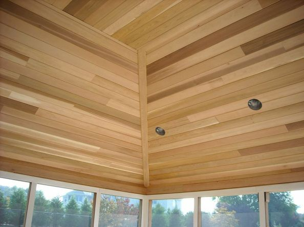 Pool House Ceiling (Long Island/NY):