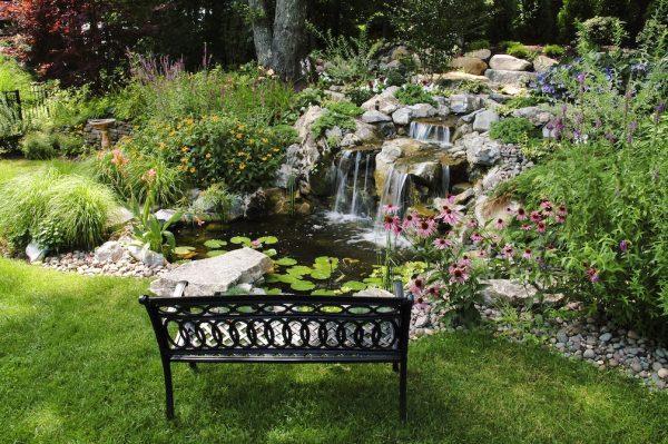 Idyllic Pond Landscaping