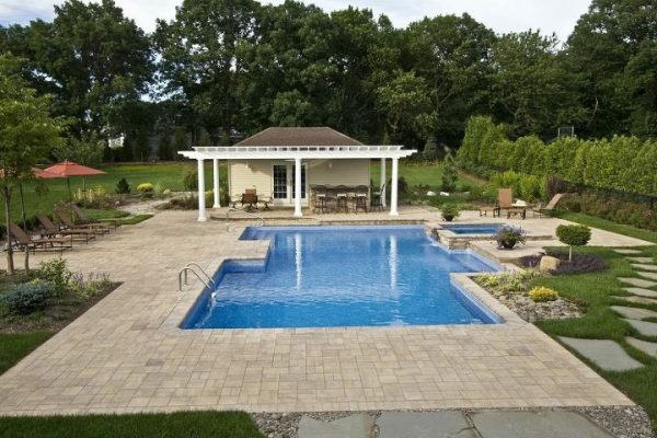 Custom Pool House: