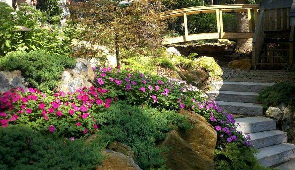 Backyard Garden Bridge (Long Island/NY):