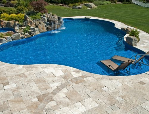 Pool Deck Installations: Bring the Indoors, Outside, with Travertine