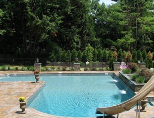 Geometric Pools: Finding Comfort in the Traditional