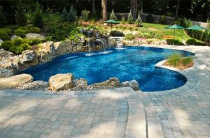 Seamless Integration of Pool and Patio