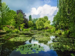 Water Gardens in Giverny, France