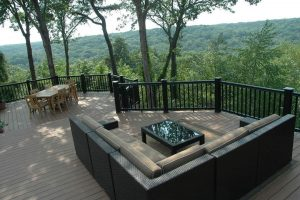 Deck's Outdoor Seating Area