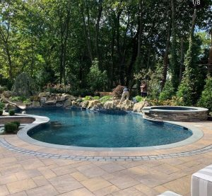 Manhasset Project's Pool and Spa Area: