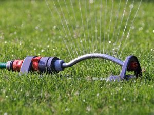 Capture Rainwater for Lawn Irrigation