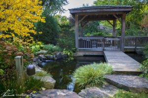 Beautifully Weathered Bridge/Gazebo