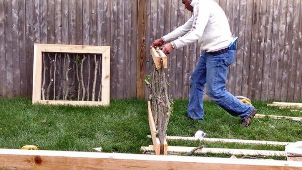 Garden Fence Construction: