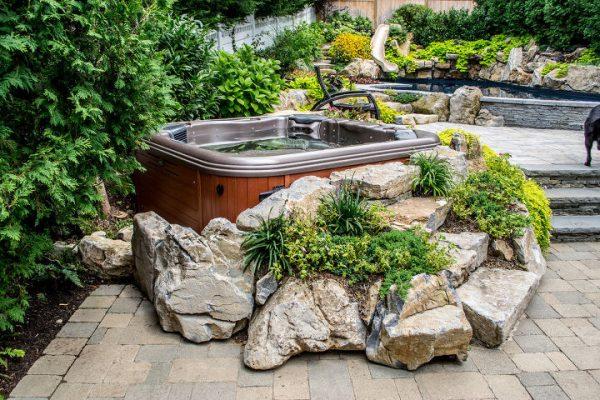 Bullfrog Spa With Custom Installation (Huntington/NY):