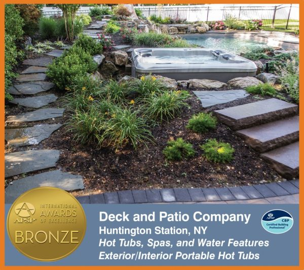 Deck and Patio's APSP Bronze Award (Fort Salonga, NY):
