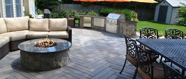 Outdoor Kitchen on Lower Patio: