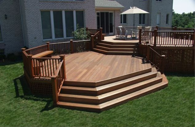 "Deck and Patio ""Mahogany"" Deck"