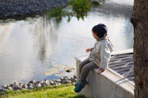 Children Love Ponds