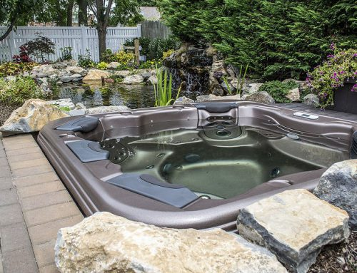 Budget Backyard Upgrade: 'Hot Tub with a View'