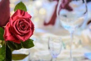 Valentine's Day Dinner/Red Rose