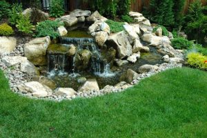 Additional Pond Waterfall