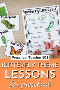 Butterfly Themed Lesson for Kids