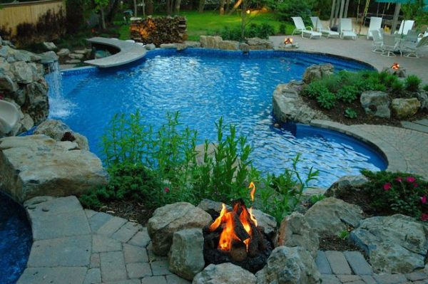 Customized Gas Campfires: