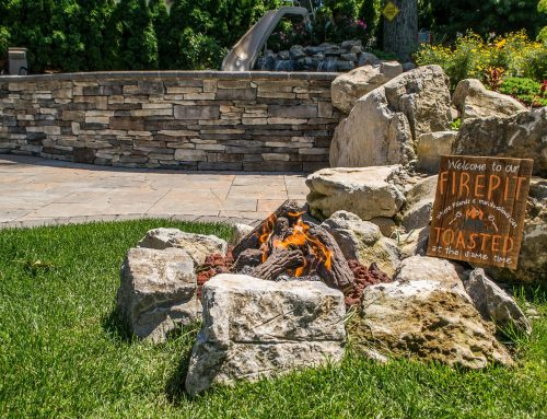 Extend the Outdoor Season with a Fire Feature