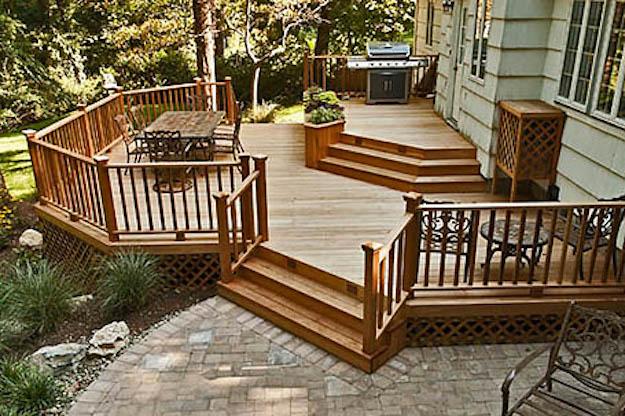 Deck and Patio Cedar Deck