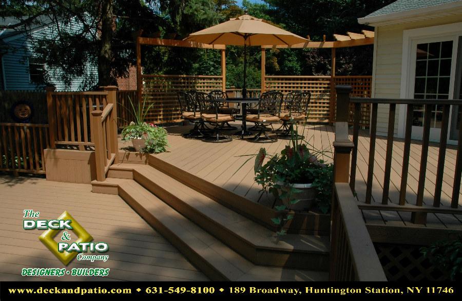 2 Level Backyard Decks