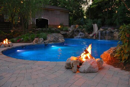 Pool Water Features: