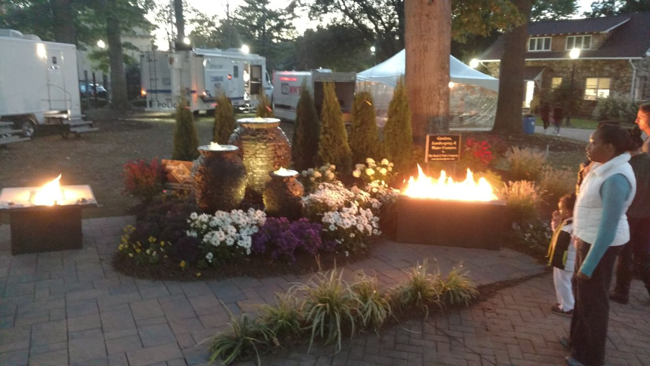 Bringing Outdoor Living Ideas To Local Fall Festival