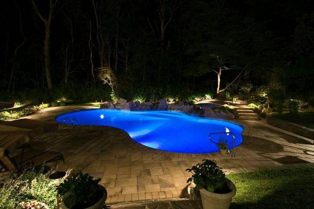 LED Lighting As Part of Backyard Upgrade (Manhasset/NY):