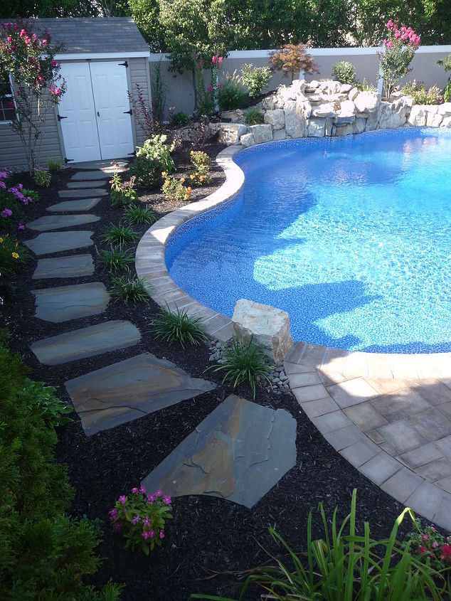 Stepping Stone Walkway Ideas The Deck