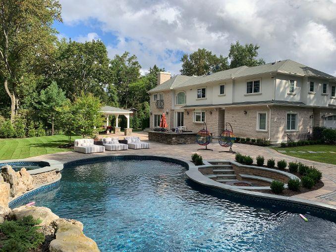 Deck and Patio Backyard Oasis