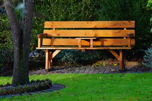 Why Not Include a Bench with Your Backyard Upgrade
