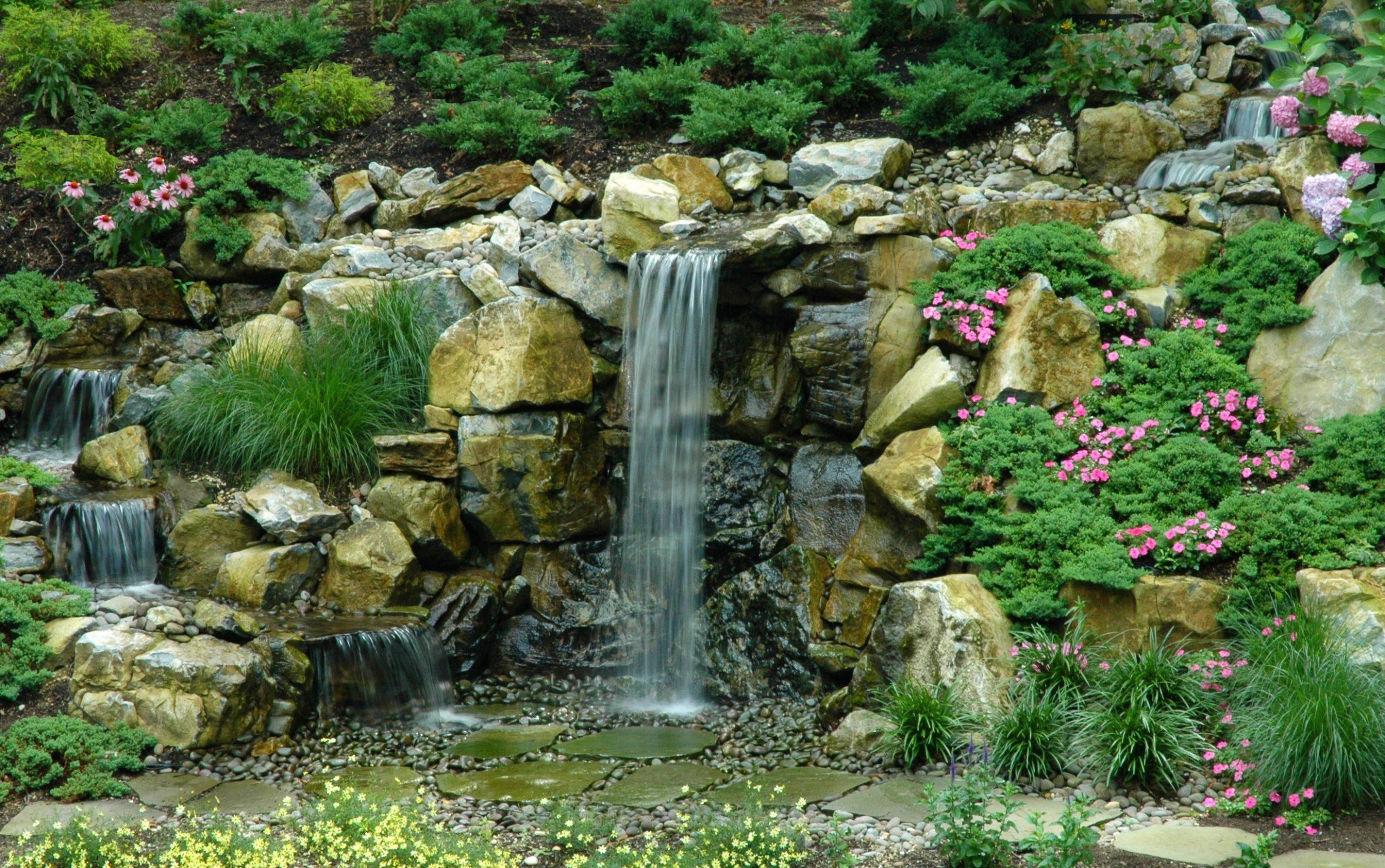 Backyard Upgrade: Adding the Drama of a Waterfall