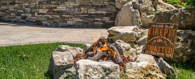 Today's Feature Photo at top of Page: An Invitation to S'mores: